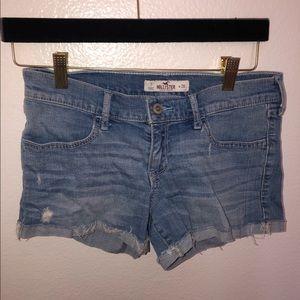 Hollister Light Wash Shorts